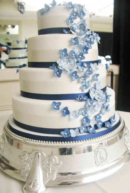 Bashall Barn Wedding Cakes